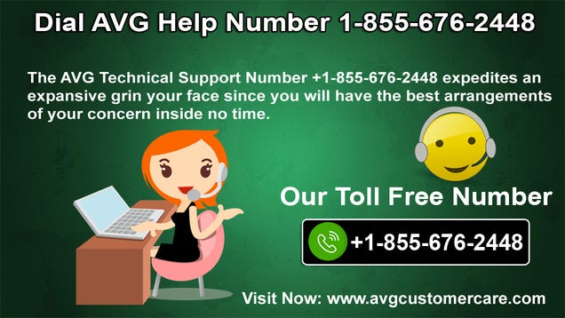 Illustration for article titled Dial AVG Help Number 1-855-676-2448