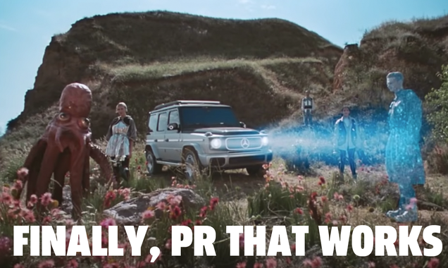 Let's Give It Up To Mercedes-Benz For Making Some Really Bonkers Promo Videos