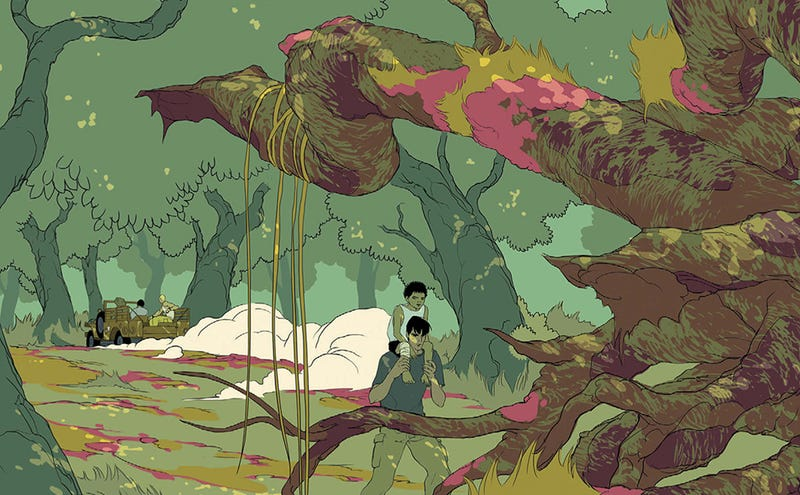 Illustration for article titled An Unbelievably Beautiful Sneak Peek At Your Next Comics Obsession