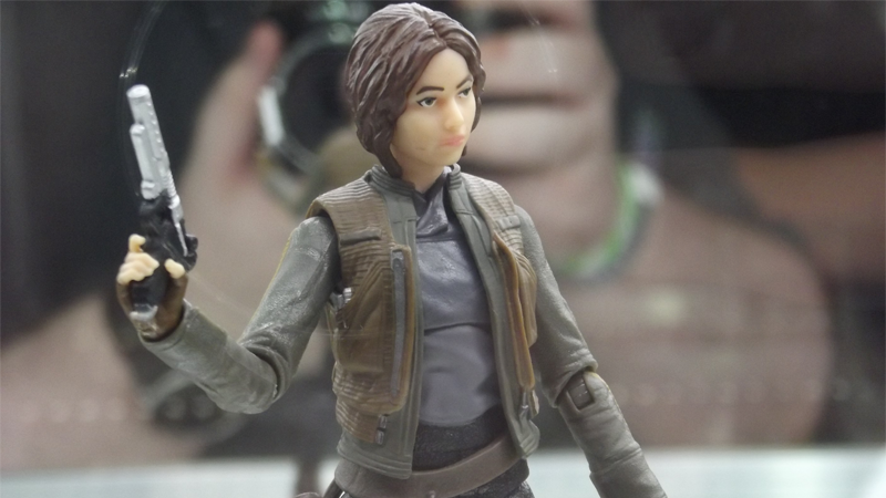 Illustration for article titled A Closer Look atJynErso,Rogue One's First Action Figure