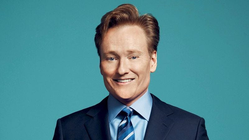 Illustration for article titled TBS renews contract of Conan O'Brien, late-night elder statesman, through 2018