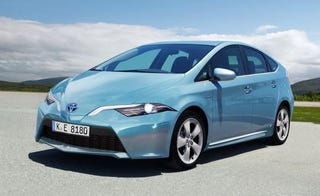 "Illustration for article titled This might be the new Prius.  Please join me:  ""What in the actual fuck??"""