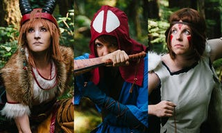 Illustration for article titled Princess Mononoke Cosplay Blows The Head Off The God Of Cosplay