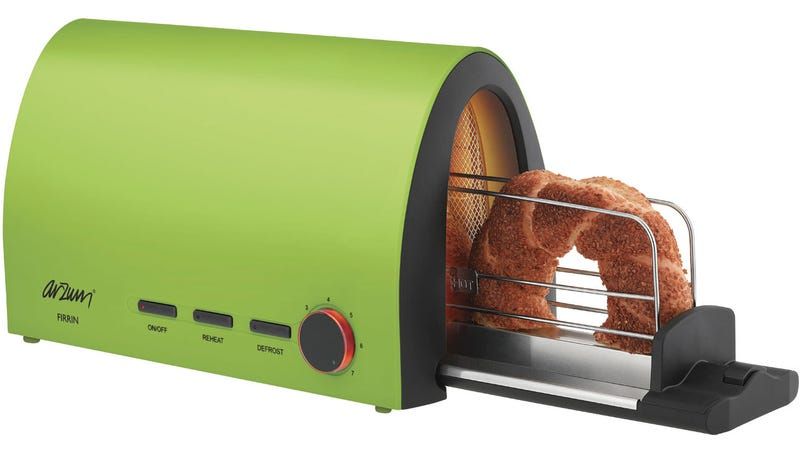 Send Your Bread Through This Tunnel Of Toast In The Morning