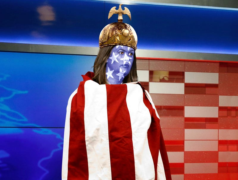 Illustration for article titled Sarah Huckabee Sanders To Join Fox News As American Flag