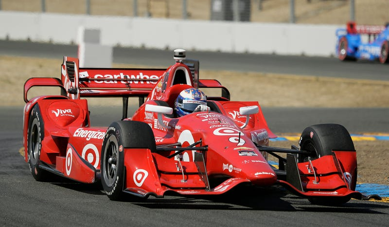 Illustration for article titled Scott Dixon Pulls Out 'Longshot' IndyCar Championship Win At Sonoma
