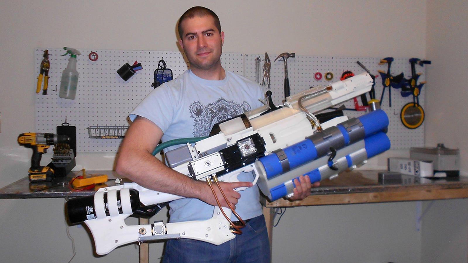 Crea un cañón de riel portátil con Arduino que dispara proyectiles a 900 Km/h