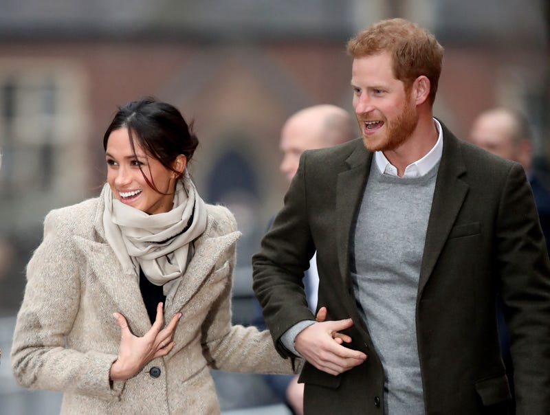 Prince Harry and his fiancee, Meghan Markle, in London on Jan. 9, 2018 (Chris Jackson/Getty Images)