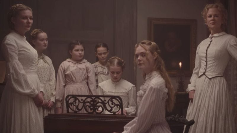 Screenshot: The Beguiled trailer
