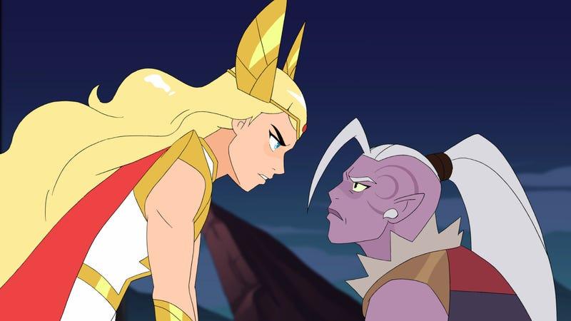 She-Ra and Huntara.