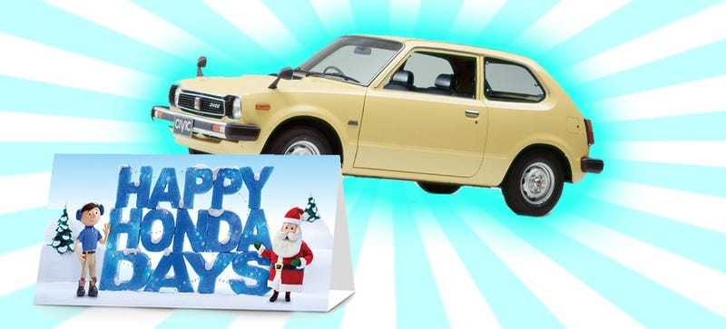 Illustration for article titled Have Happy Honda Days Become Too Commercialized?