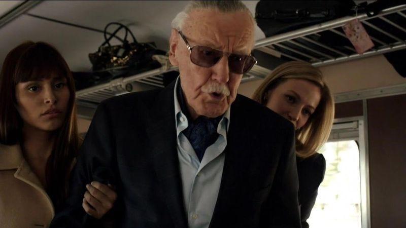Stan Lee in Marvel's Agents Of S.H.I.E.L.D.