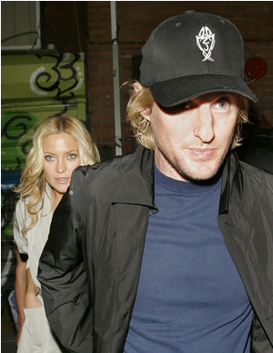 Illustration for article titled Owen Wilson & Kate Hudson Rendez-Vous In France