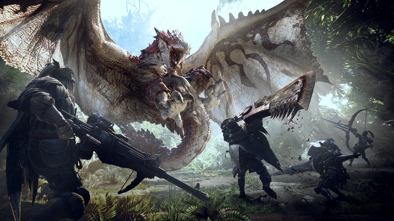 What's New In Monster Hunter: World