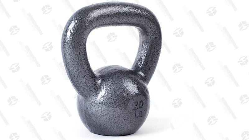 CAP Cast Iron Kettlebell | from $8 | Wal-Mart