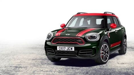 The 2017 Mini John Cooper Works Countryman It S What On Inside That Counts