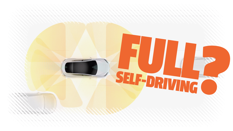 Illustration for article titled Tesla Is Still Using the Phrase 'Full Self-Driving' to Describe Its Cars Even Though It's Wrong