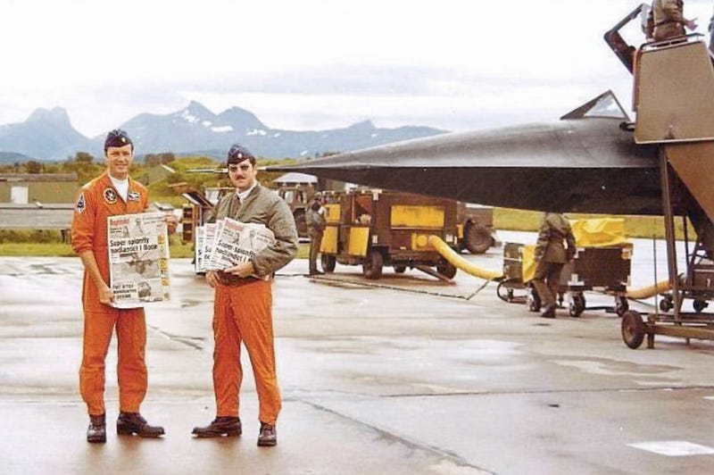 That Time An SR-71 Made An Emergency Landing In Norway After Spying On The Soviets