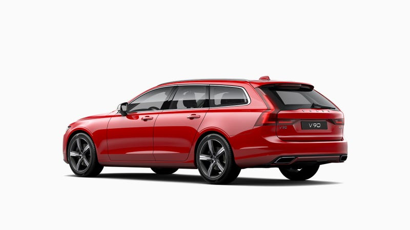 Volvo Will You A Very Sleek And Stylish 2018 V90 Wagon But Have To Order It The Starting Msrp For Some Swedish Longroof Goodness Is Just