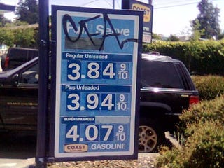 Illustration for article titled Arrrgh! $4+ Gas Spotted In California