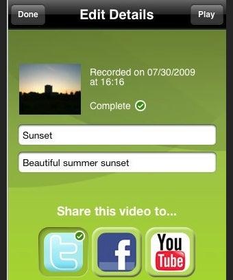 Qik Brings Video Sharing App to iPhone 3GS