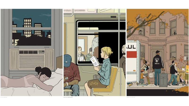 Beautiful Prints From Iconic New Yorker Artist Adrian Tomine