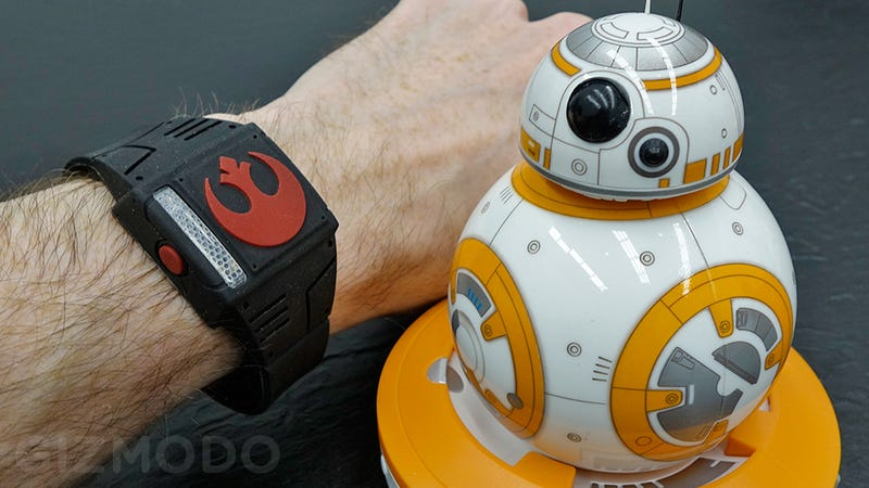 Illustration for article titled A New Wearable Lets You Control Sphero's BB-8 Using the Force