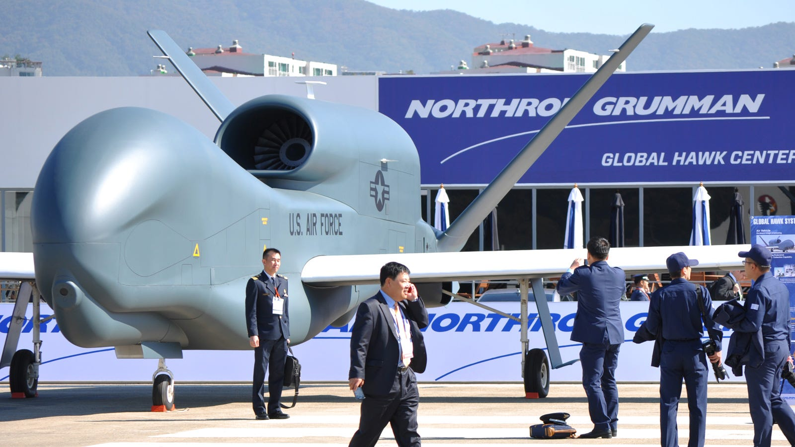Those Air Force Drones Are Bigger Than You Think They