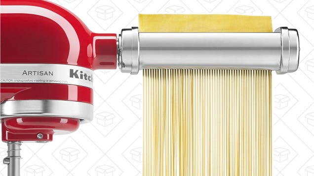 Discover the Joys of Pasta Making With This Discounted KitchenAid Attachment