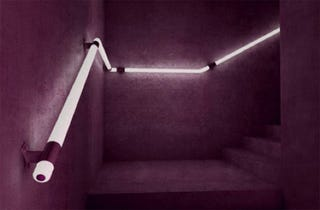 Illustration for article titled LED Handrails Prevent Stairway Spills