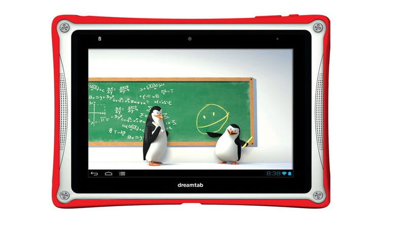 Illustration for article titled DreamWorks Dreamtab: A $300 Android Tab for Kids Full of Cool Content