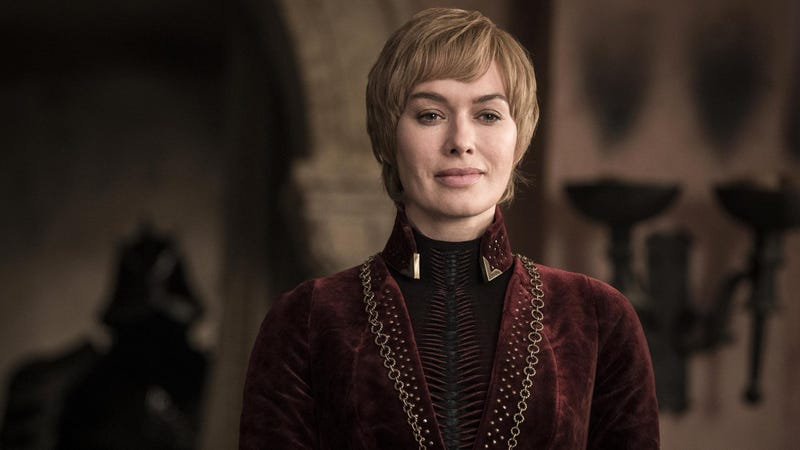 No matter who claims the Iron Throne in the end, Cersei will always be the queen of Resting Smug Face.