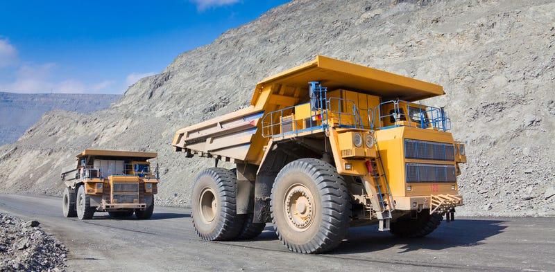 Illustration for article titled Estas minas australianas ya no necesitan chofer, todos sus camiones son autónomos