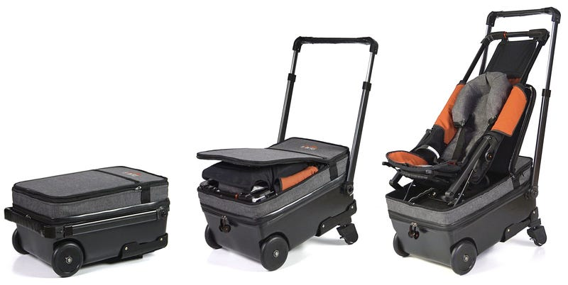 A Baby Stroller Magically Pops Out Of This Carry On Luggage