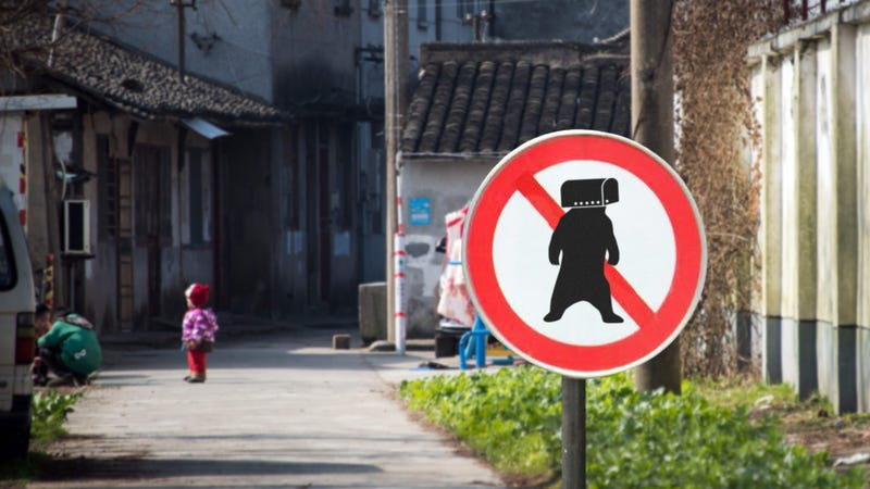 Illustration for article titled Baby Steps: China Has Finally Made It Illegal To Chain A Live Bear At The Front Of Your Driveway And Surgically Attach A Mailbox On Its Head