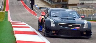 Illustration for article titled This Is The New Cadillac ATS-V Race Car And It Looks Badass