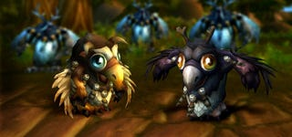 Illustration for article titled Do World Of Warcraft's Moonkin Babies Make You Feel Charitable?