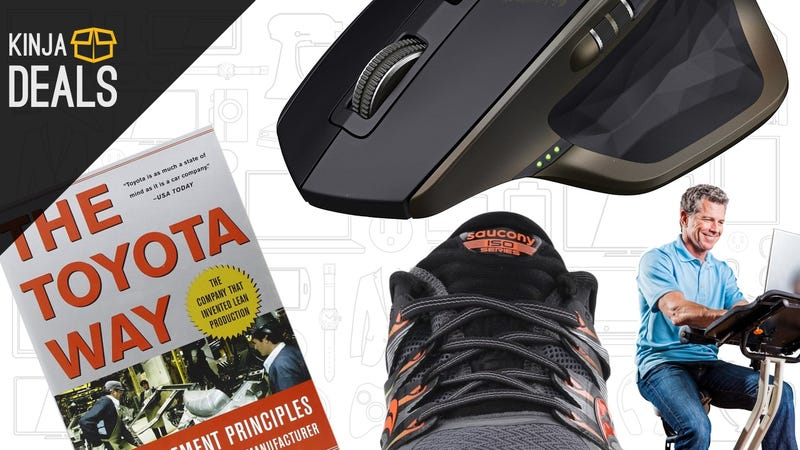 Illustration for article titled The Best New Year's Day Deals: Self-Improvement Books, Cheap Running Shoes, and More