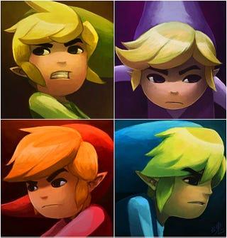 Illustration for article titled The Legend of Zelda: A Four Link Adventure