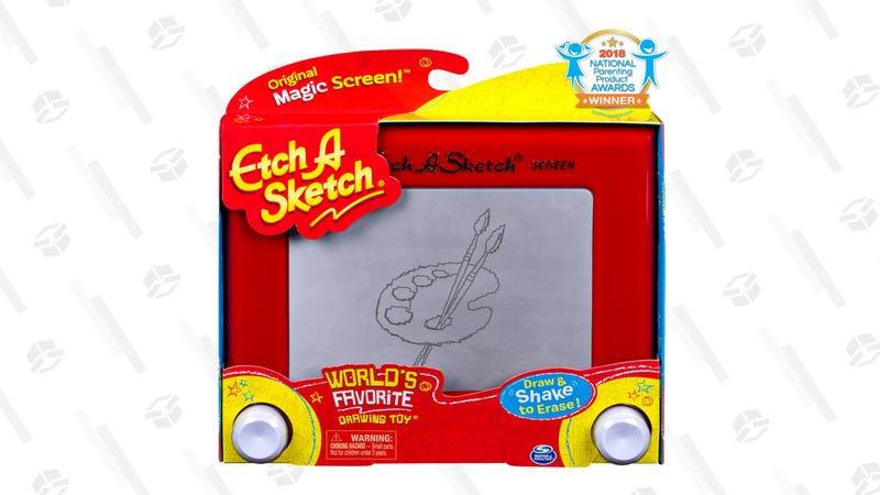 Etch A Sketch | $6 | Walmart
