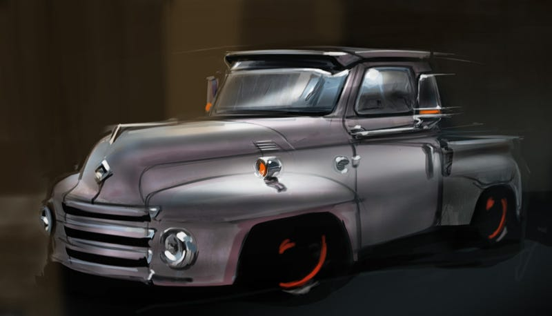 Illustration for article titled Coty's truck, give or take a few inches and pounds