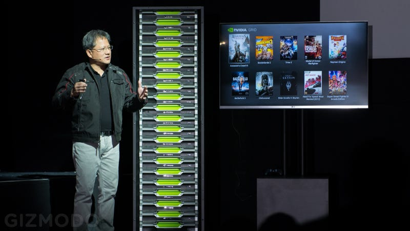 Illustration for article titled Nvidia Just Built Its Own Gaming Supercomputer: The Grid