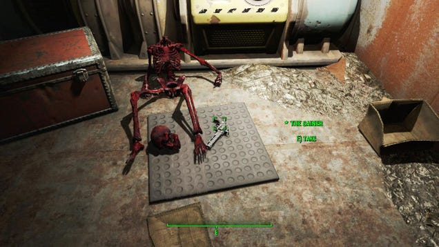 Fallout 4's Kojima Easter Egg Was Hidden Inside A System Shock Easter Egg