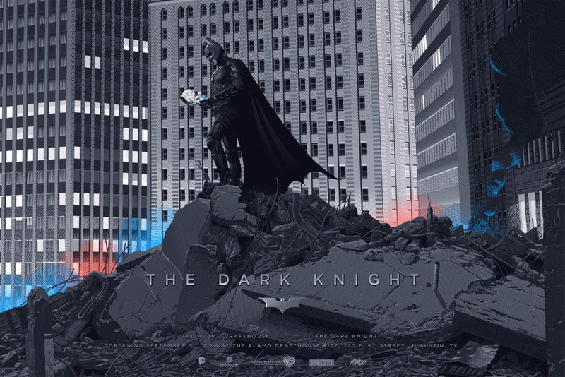 Illustration for article titled Remind Yourself How Awesome The Dark Knight Is With These Insane New Posters