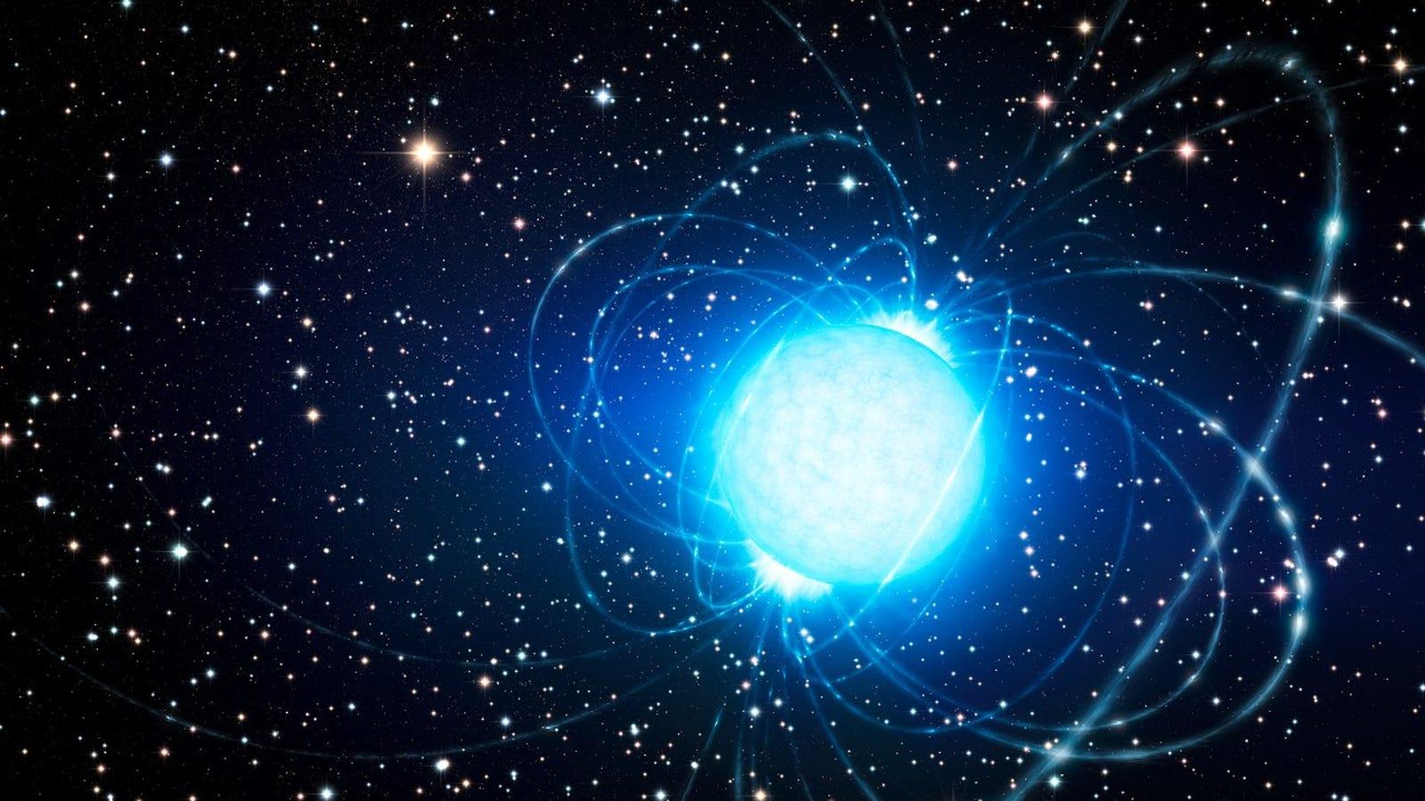 Una extraña estrella vuelve a emitir señales de radio después de una década en silencio