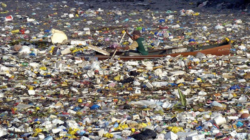 North Pacific Gyre Trash Island