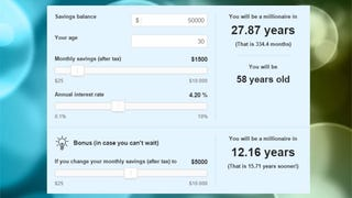 This Calculator Shows How Long It Will Take to Save a Million Dollars