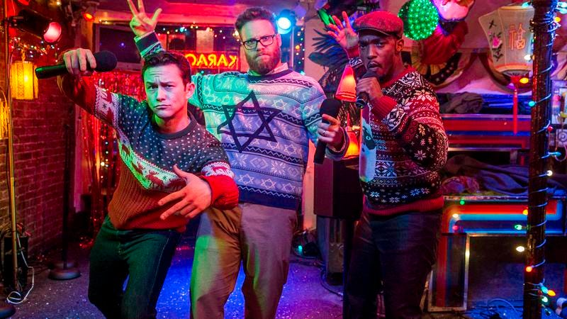 Seth Rogen grows up yet again in The Night Before