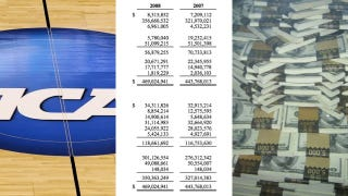 Illustration for article titled The NCAA's  Accidentally Leaked Five Years Of Financial Statements (UPDATE)