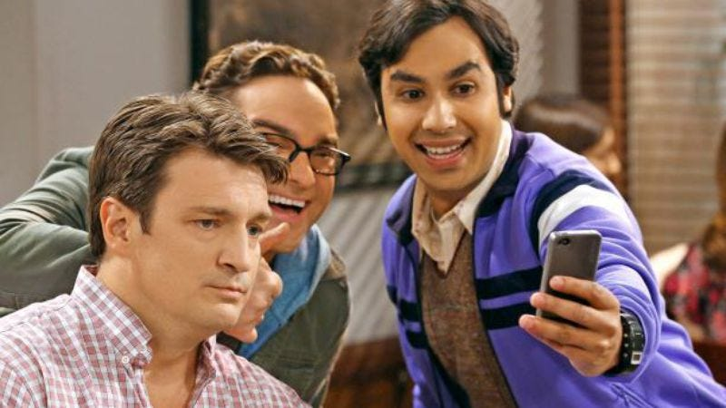 Illustration for article titled Nerd actor Nathan Fillion to appear on The Big Bang Theory, a show for nerds